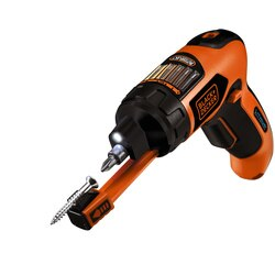 Black and Decker - Autoselect Screwdriver with Screwholder - AS36LN