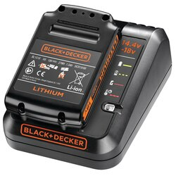 Black and Decker - 1A Fast Charger  18V 15Ah Lithiumion Battery - BDC1A15