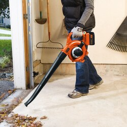 Black and Decker - 36V 20Ah Lithiumion Cordless Leaf Blower and Vacuum - GWC3600L20