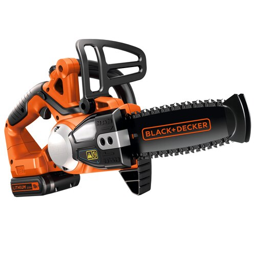 Black and Decker - 18V 20Ah Lithiumion Cordless Chainsaw 20cm - GKC1820L20