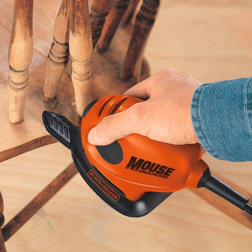 Black and Decker - 55W Mouse Detail Sander  15 Accs - KA161BC