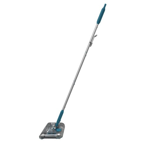 Black and Decker - 72Wh Lithiumion Floor Sweeper  Blue - PSA115B