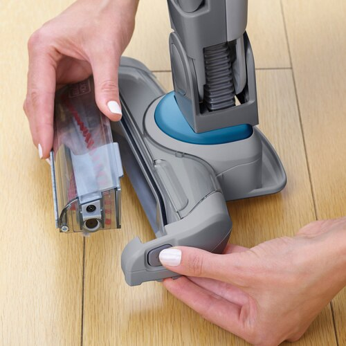 Black and Decker - 36Wh 2in1 Lithiumion Cordless dustbuster hand and floor Vacuum with Smart Tech Sensors - SVJ520BFS